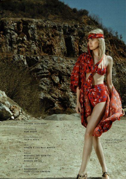 Hannah Richter in Grazetta magazine #5