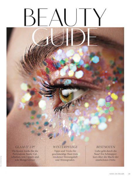 Iris Kavka for Steffl magazine