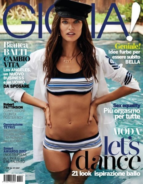 Bianca Balti for Gioia magazine July 2017