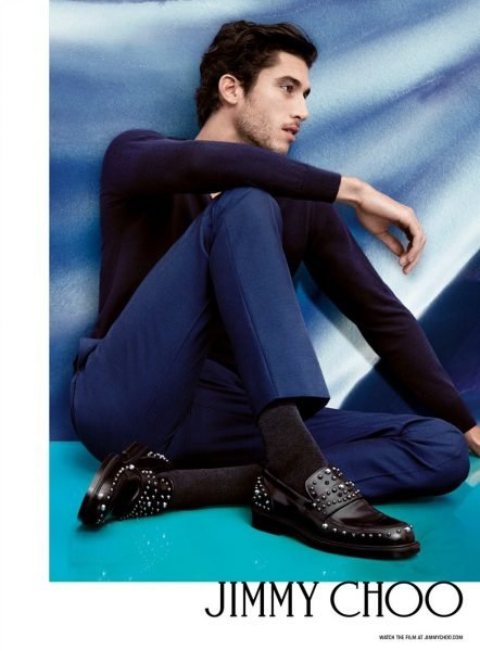 Lou Gaillot for Jimmy Choo Spring 2017