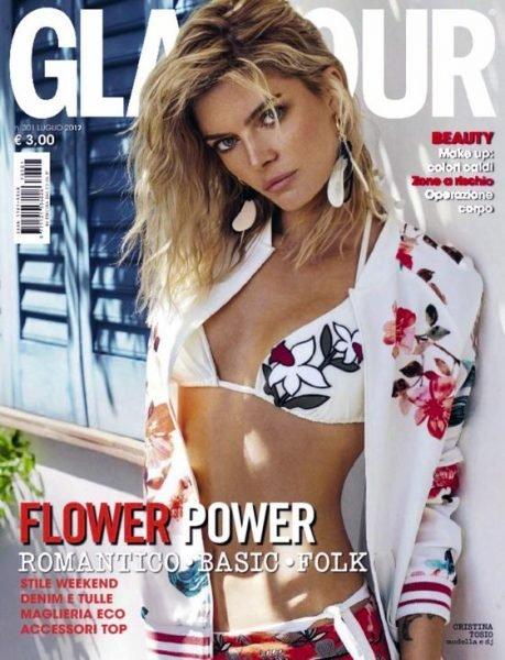 Cristina Tosio for Glamour Italy July 2017 by Xavi Gordo