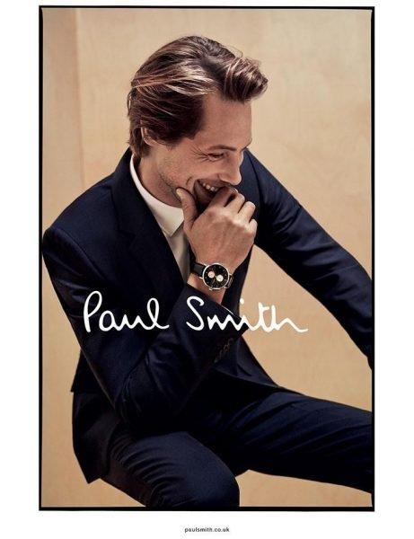 James Rousseau for Paul Smith S/S 17 Campaign