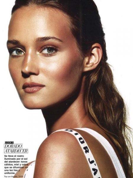 Johanna Szikszai for Telva Beauty magazine July 2017