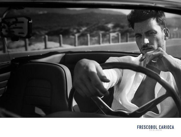 Kevin Sampaio for Frescobol Carioca S/S 19 campaign