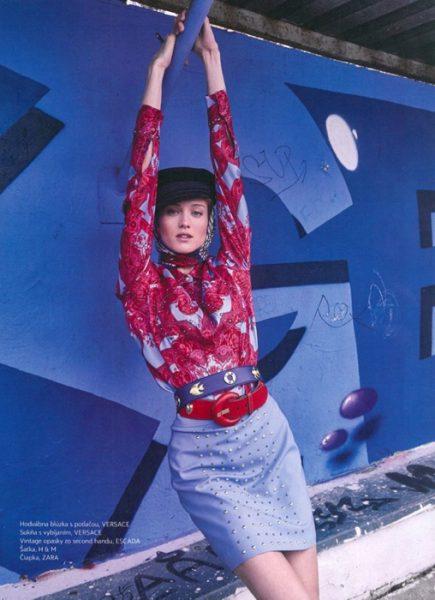 Bibi for Emma magazine by Lukas Kimlicka
