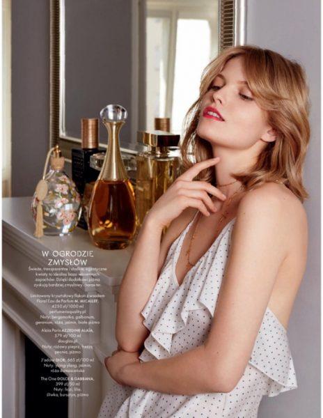 Maria for Elle Poland June 2018