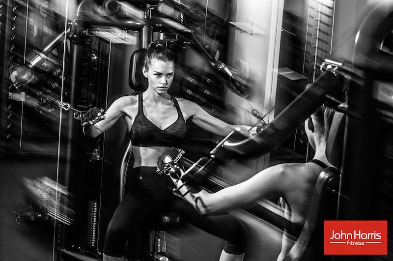 Iris Kavka for John Harris Fitness by Mato