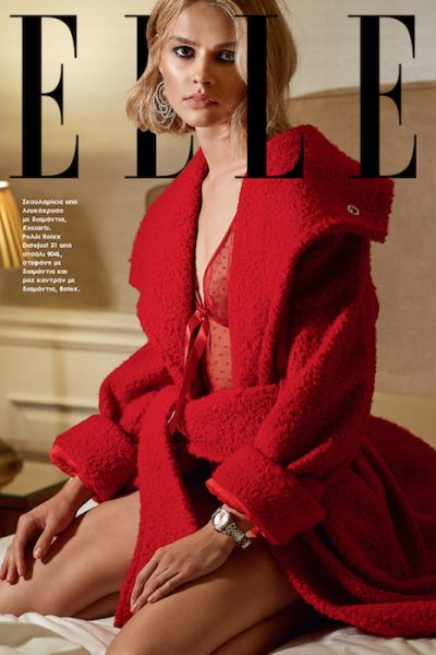 Milena for Elle magazine