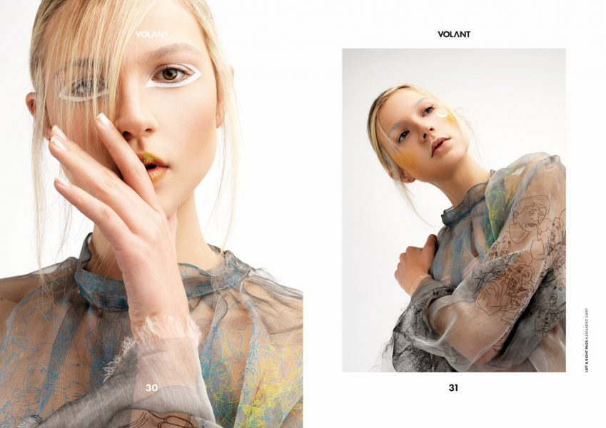 Jasmin for VOLANT magazine by Dominique Hammer