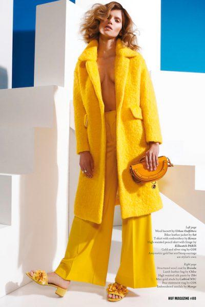 Sabina Wrotny for HUF magazine by Silke Wagner