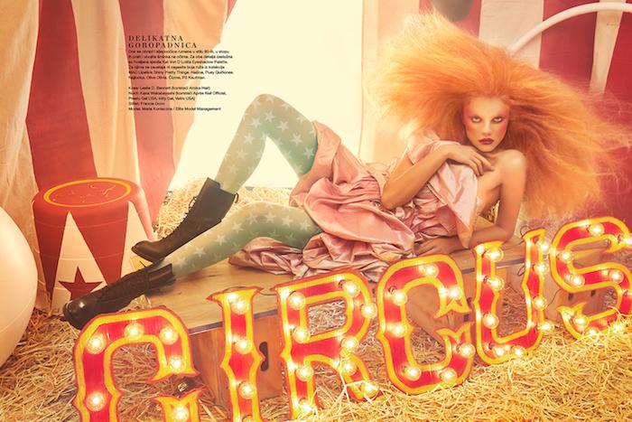 Maria Konieczna for Elle Croatia March 2019