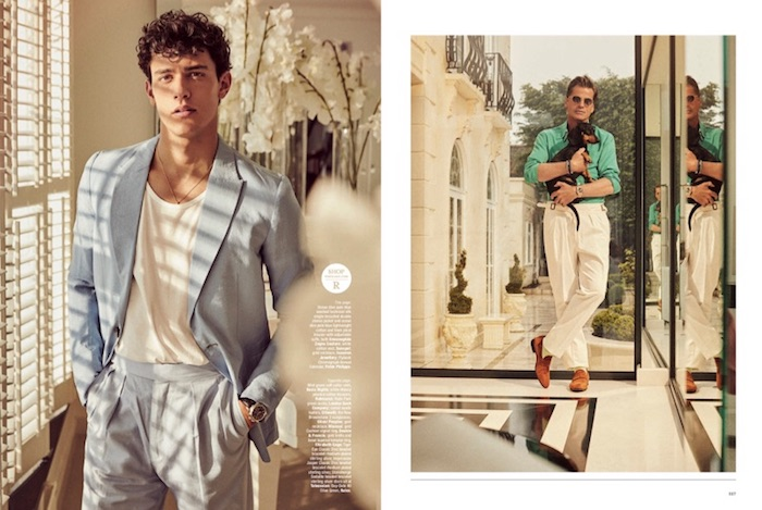 Mark Vanderloo and Xavier Serrano for The Rake magazine