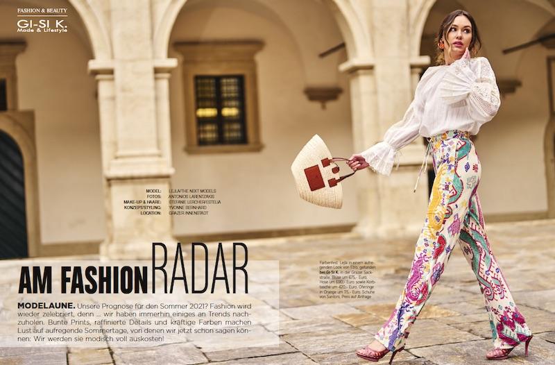 Lejla for Moments magazine