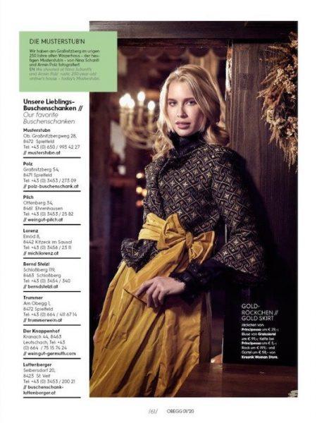 Hannah Richter for Obegg magazine by Gerry Frank