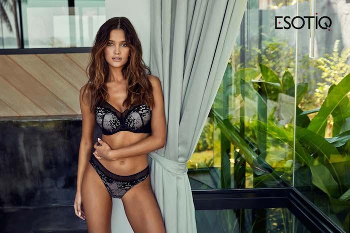 Sandra for Esotiq lingerie
